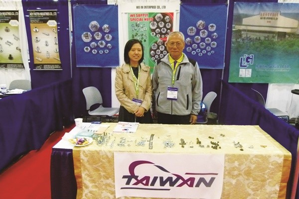 Wei In Enterprise Join 2017 National Industrial Fastener Mill Supply Expo Las Vegas